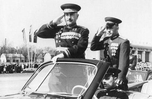 Nga công bố bộ ảnh độc đáo về các tướng lĩnh Liên Xô