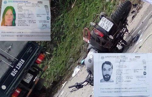 Xe máy tông xe tải, 2 vợ chồng du khách Đức tử vong