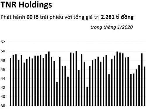 TNR Holdings phát hành gần 2.900 tỉ đồng trái phiếu trong tháng 1/2020