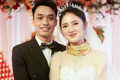 Những đám cưới 'khủng', 'ngập trong vàng' của các cô dâu Việt