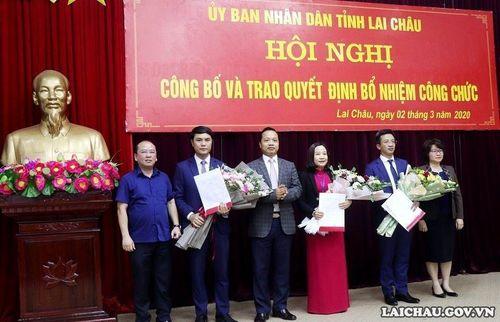 Điều động, bổ nhiệm nhân sự mới tại Hà Tĩnh, Lai Châu