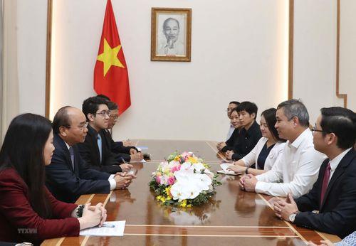 Thủ tướng Nguyễn Xuân Phúc tiếp Tổng Giám đốc Texhong Việt Nam