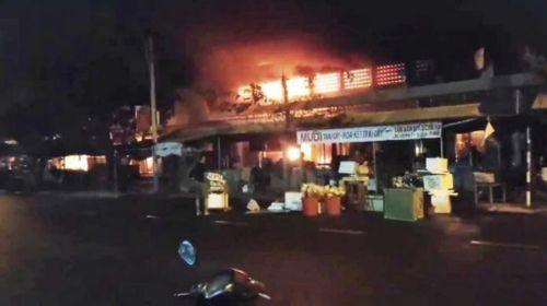 Quảng Nam: Liên tiếp xảy ra các vụ cháy chợ gây thiệt hại nghiêm trọng