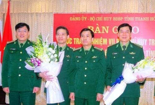 Nhân sự mới Bộ đội Biên phòng Thái Bình, Thanh Hóa, Tây Ninh