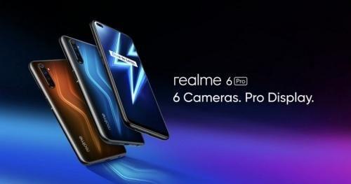 Cận cảnh Realme 6 Pro với 6 camera, chip S720G, RAM 8