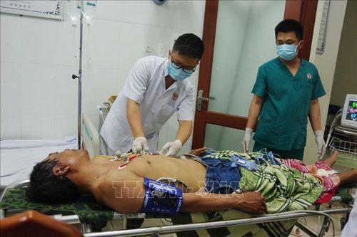 Bệnh xá đảo Trường Sa cấp cứu 3 ngư dân bị thương vì nổ bình gas trên tàu