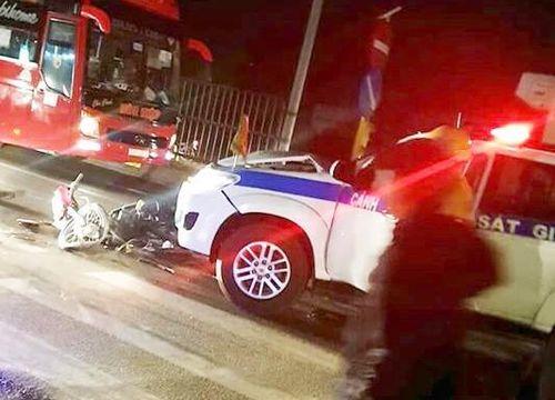CSGT Vĩnh Long lên tiếng vụ bị 'tố' gây tai nạn rồi bỏ chạy