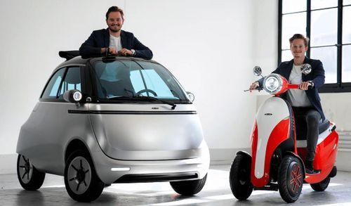 2 mẫu xe điện mang phong cách hoài cổ giá 126 triệu đồng
