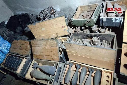 Đột nhập nhà máy sản xuất vũ khí của khủng bố ở Tây Aleppo