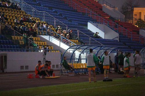 Sự cố nhỏ trong trận Việt Nam vs Australia trên sân Cẩm Phả