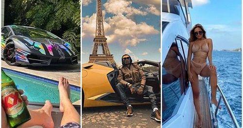 Cuộc sống sang chảnh của Rich Kid thế giới giữa mùa dịch: siêu xe, chuyên cơ riêng, khẩu trang hàng hiệu