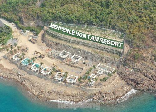 KDL đảo Hòn Tằm lấp đất đá ảnh hưởng nghiêm trọng hệ sinh thái biển