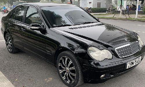 Xe sang Mercedes C 180 cũ chỉ 175 triệu đồng tại Hà Nội