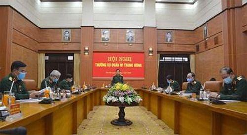 Thường vụ Quân ủy Trung ương cho ý kiến về dự thảo văn kiện Đại hội đại biểu Đảng bộ Quân đội lần thứ XI