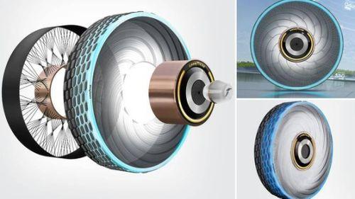 Sắp ra mắt loại lốp xe có khả năng tự phục hồi, không bao giờ bị nổ