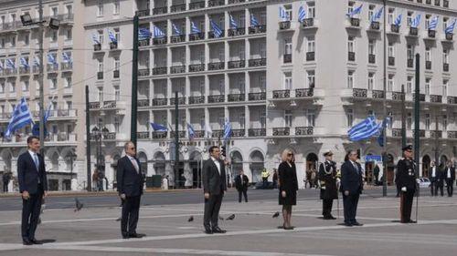 Hy Lạp kỷ niệm Quốc khánh trong bối cảnh giới nghiêm toàn quốc vì Covid-19
