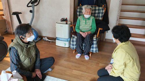 Cụ bà mắc Covid-19 lớn tuổi nhất ở Hàn Quốc đã hồi phục