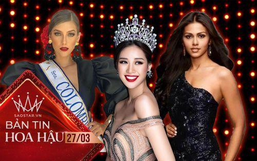 Khánh Vân kết thân hoa hậu Colombia - Ấn Độ, khẳng định không phẫu thuật thẩm mỹ thi Miss Universe