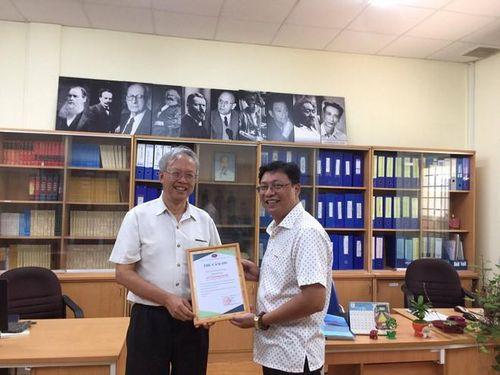 Người Việt đầu tiên được bầu làm phó chủ tịch Hiệp hội nghiên cứu châu Á