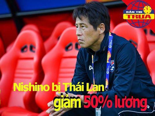 HLV Nishino bị giảm 50% lương; tiết lộ lý do Văn Lâm dự bị