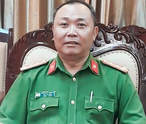 Trưởng phòng Cảnh sát môi trường giữ chức Phó giám đốc Công an tỉnh Bình Định