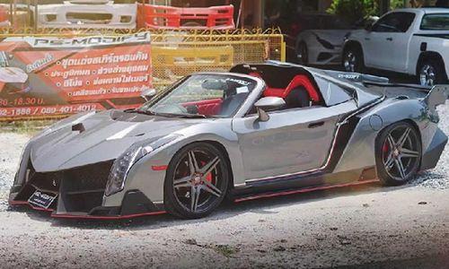 Dân Thái chi 850 triệu đồng biến Toyota thành 'siêu xe' Lamborghini