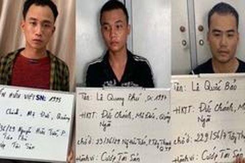 TPHCM: Họp báo vụ truy bắt 3 đối tượng dùng súng cướp Bách hóa Xanh