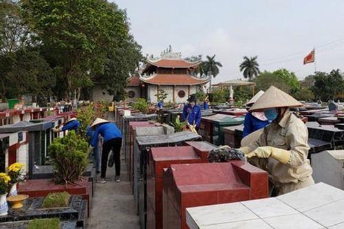 Hải Phòng dọn dẹp mộ miễn phí, đóng cửa 2 nghĩa trang lớn dịp Thanh minh