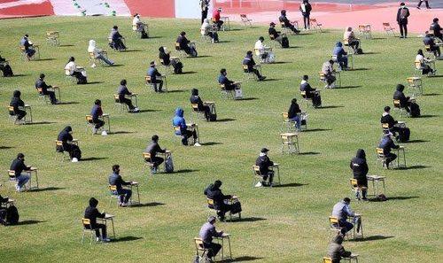 Sân vận động Hàn Quốc trở thành nơi thi tuyển việc làm