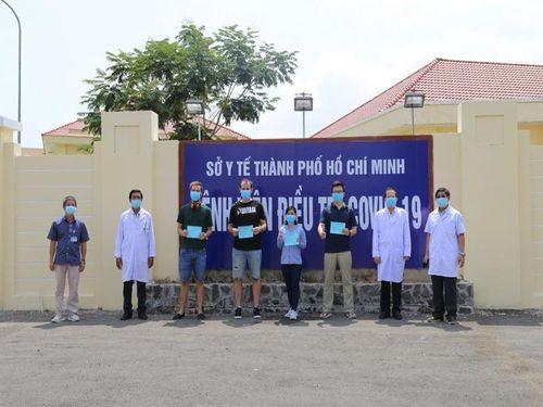 TP.HCM: Thêm 9 bệnh nhân COVID-19 được công bố khỏi bệnh