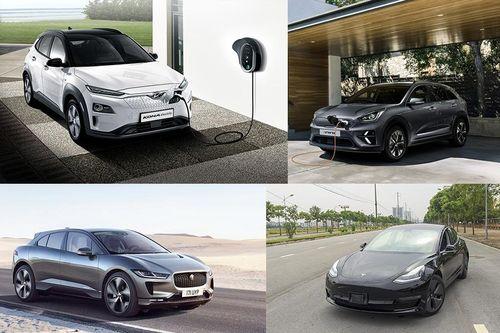 5 mẫu ôtô điện có cự ly vận hành thực tế tốt nhất