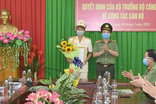 Điều động, bổ nhiệm Phó Giám đốc Công an Nam Định, Bình Thuận, Thanh Hóa