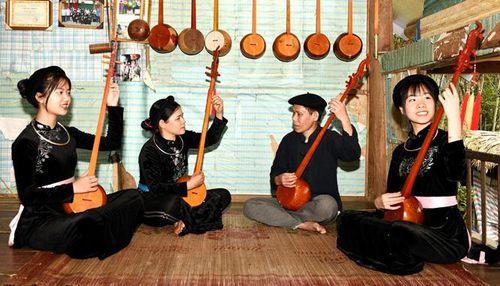 Tuyên Quang: Câu lạc bộ hát Then thôn Bản Nhùng góp phần giữ gìn bản sắc văn hóa truyền thống