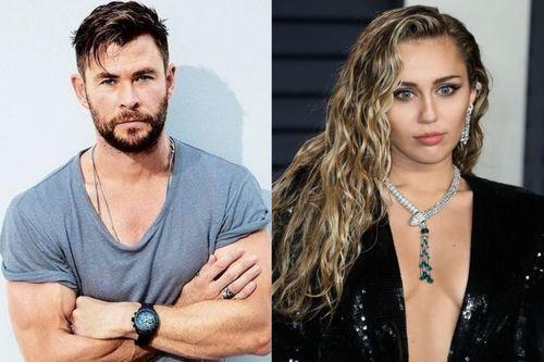 Thần sấm Chris Hemsworth đá đểu em dâu cũ Miley Cyrus