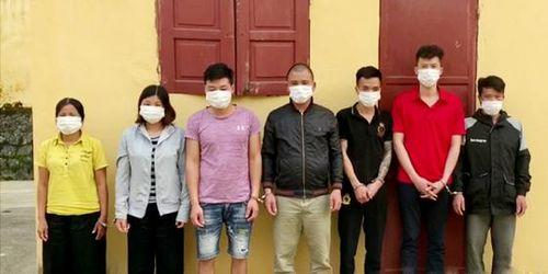 Lào Cai: Bắt giữ 7 đối tượng đang sát phạt nhau trong sới bạc
