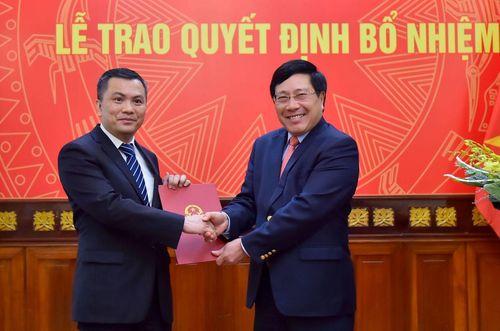 Điều động, bổ nhiệm lãnh đạo mới Bộ Công an, Bộ Ngoại giao