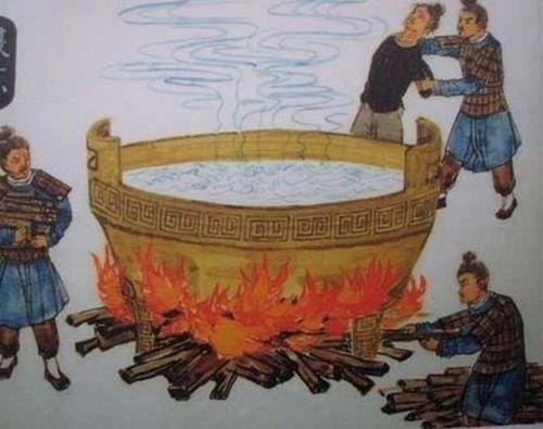 Vị vua nào đặt vạc dầu, nuôi hổ báo để trừng trị tội phạm?