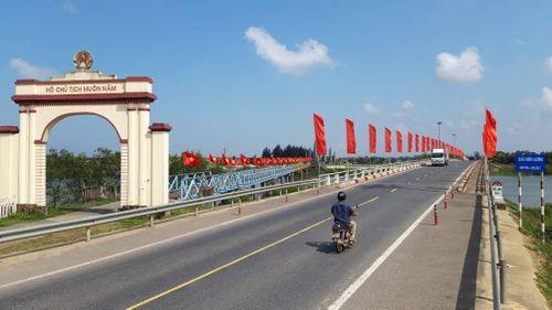 Xây dựng QL1 đôi bờ Hiền Lương - Bến Hải thành 'Cung đường Thống nhất'