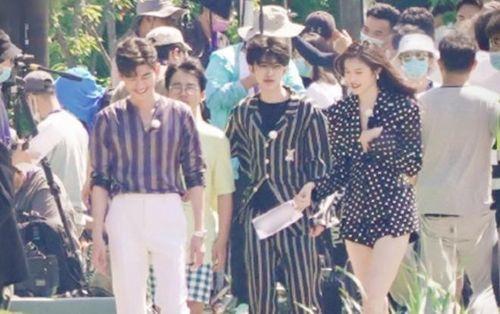 'Keep Running': Thái Từ Khôn - Quách Kỳ Lân catwalk khi mặc áo ngủ, bộ ba mỹ nữ Angelababy - Trương Thiên Ái - Sui He cùng chung khung hình