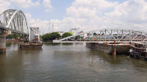 Đầu tháng 6, tháo xong cầu Bình Lợi gần 120 năm tuổi