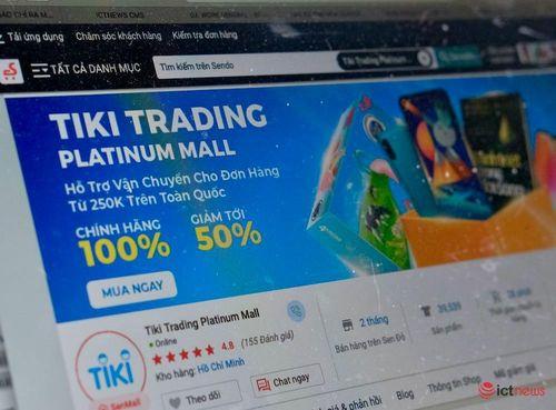 Tiki lập gian hàng trên Sendo, mở đầu cho sáp nhập?