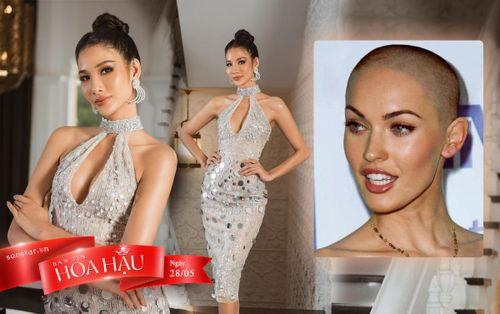 Hoàng Thùy lầy lội đòi cắt tóc đầu đinh, fan phản đối: 'Chị đẹp nhất style Miss Universe'