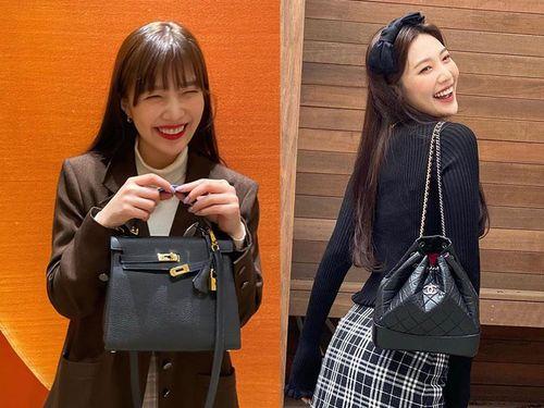 Mỹ nhân Red Velvet toàn đeo túi hiệu, có chiếc Hermès giá 8.400 USD