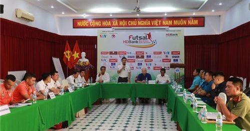 Ngày 1/6 Giải futsal HDBank vô địch quốc gia chính thức khởi tranh tại Khánh Hòa