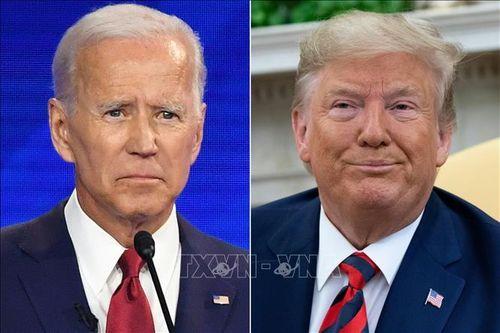 Bầu cử Mỹ 2020: Ông J.Biden vượt qua Tổng thống D.Trump trong cuộc thăm dò 3 bang