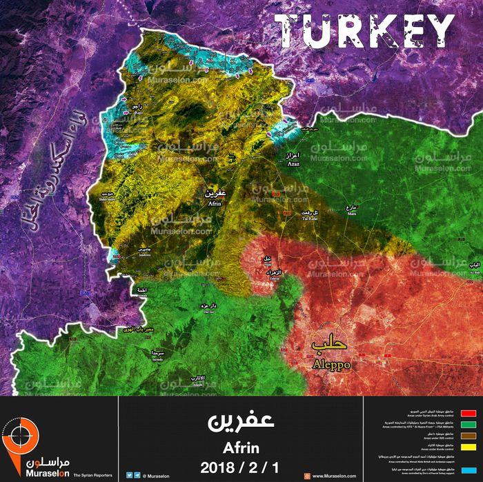 Quân Syria Đoạt Liền 15 Địa Bàn, Người Kurd Thua Liểng Xiểng Trước Quân Thổ