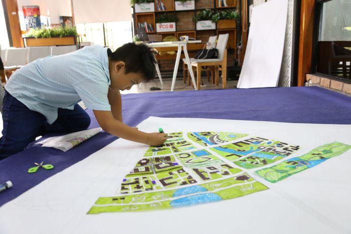 Kỹ sư nhí đóng góp nhiều ý tưởng sáng tạo cho Thành phố tương lai