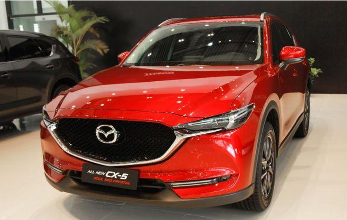 Người dùng nói gì về màu sơn đỏ mới trên mazda CX-5?