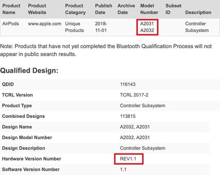Tai nghe không dây thế hệ mới AirPods 2 của Apple sắp sửa ra mắt