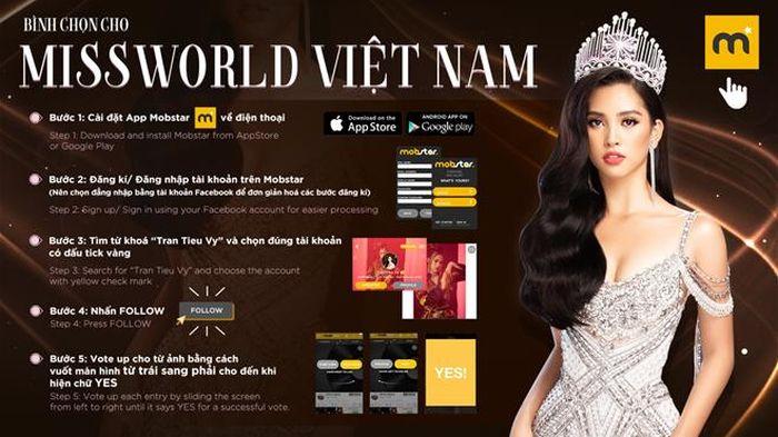 Giải thưởng phụ được tính từ điểm truyền thông trên các phương tiện: website, Twitter Miss World-Vietnam, lượng vote trên Mobstar app... Người thắng giải truyền thông sẽ có cơ hội tiến sâu vào đêm chung kết.